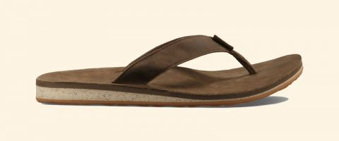 Teva Papucs Classic Flip Premium Leather
