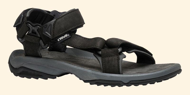 Szandál TEVA Terra Fi Lite Leather 1012072 Black