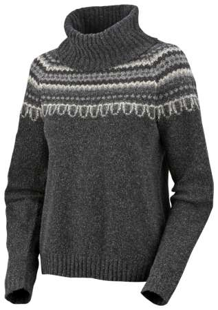 Columbia Pulóver Nubby Trimmed Cowl Neck