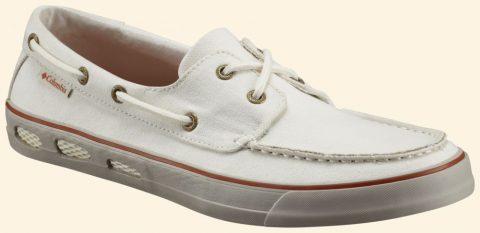 Columbia Férfi Cipő VULC N VENT ™ BOAT CANVAS