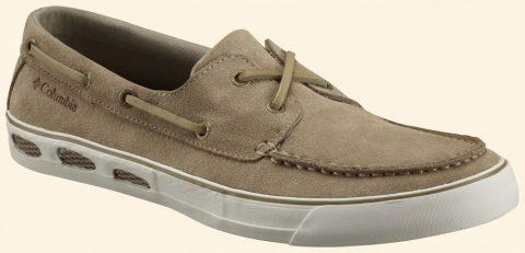 Columbia Férfi Cipő VULC N VENT ™ BOAT SUEDE