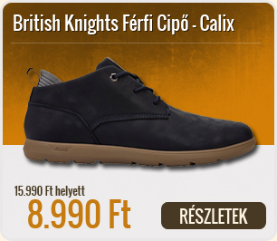 British Knights Férfi Cipő Calix - B38-3653-03-Navy-Grey