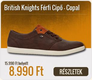 British Knights Férfi Cipő Copal - B38-3642-03-DK_Brown-Cognac