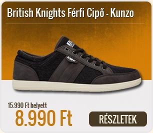 British Knights Férfi Cipő Kunzo - B38-3635-01-DK_Grey