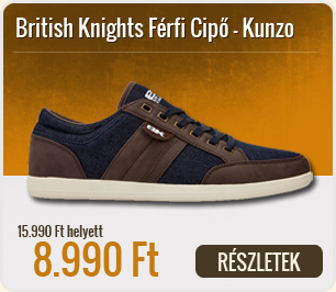 British Knights Férfi Cipő Kunzo - B38-3635-02-Navy-DK_Brown