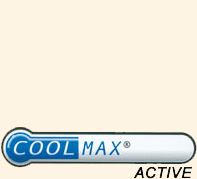 Zokni alkotórészei - Polyester Coolmax