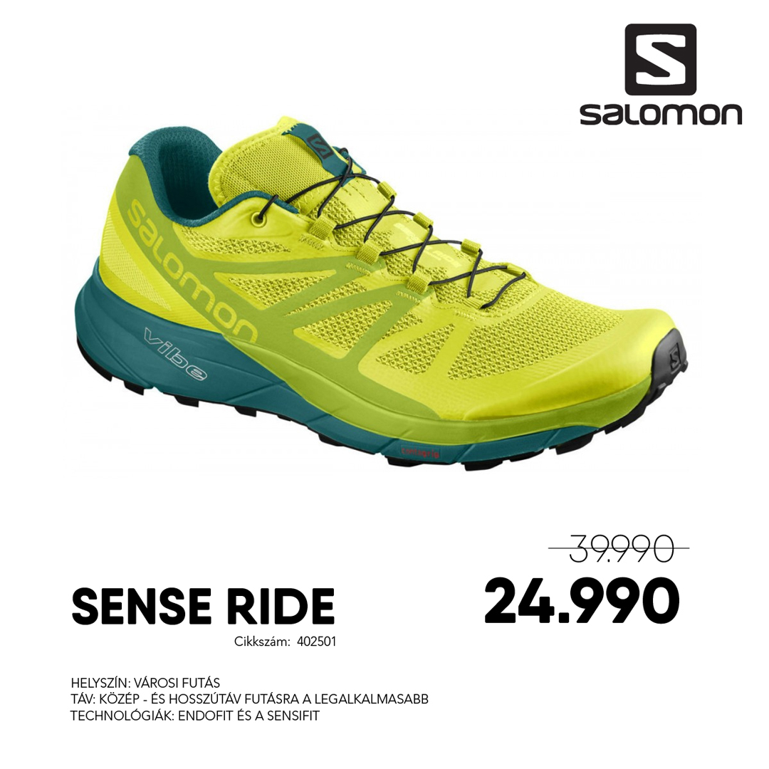 Salomon Futócipő SENSE RIDE - 402501-Sulphur_SpLime_Green_D