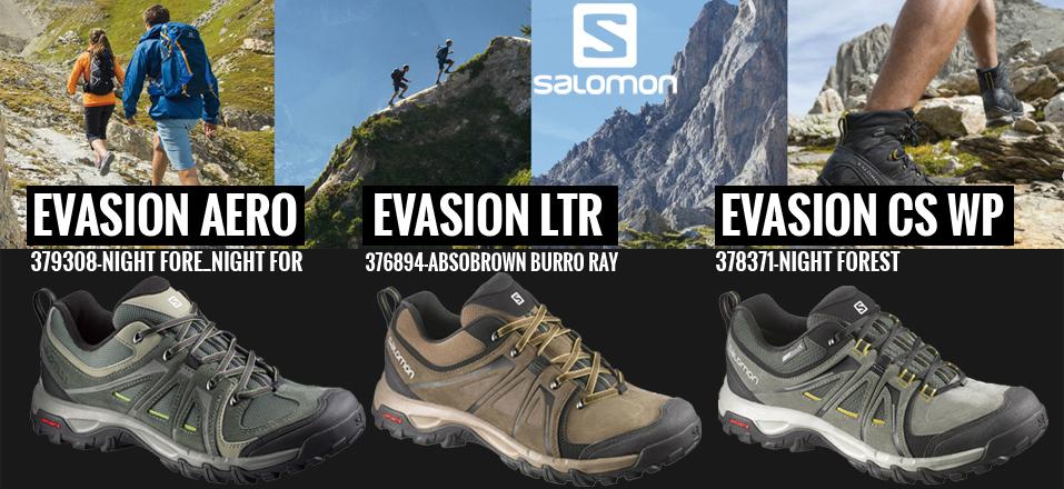 Salomon Evasion túra cipők
