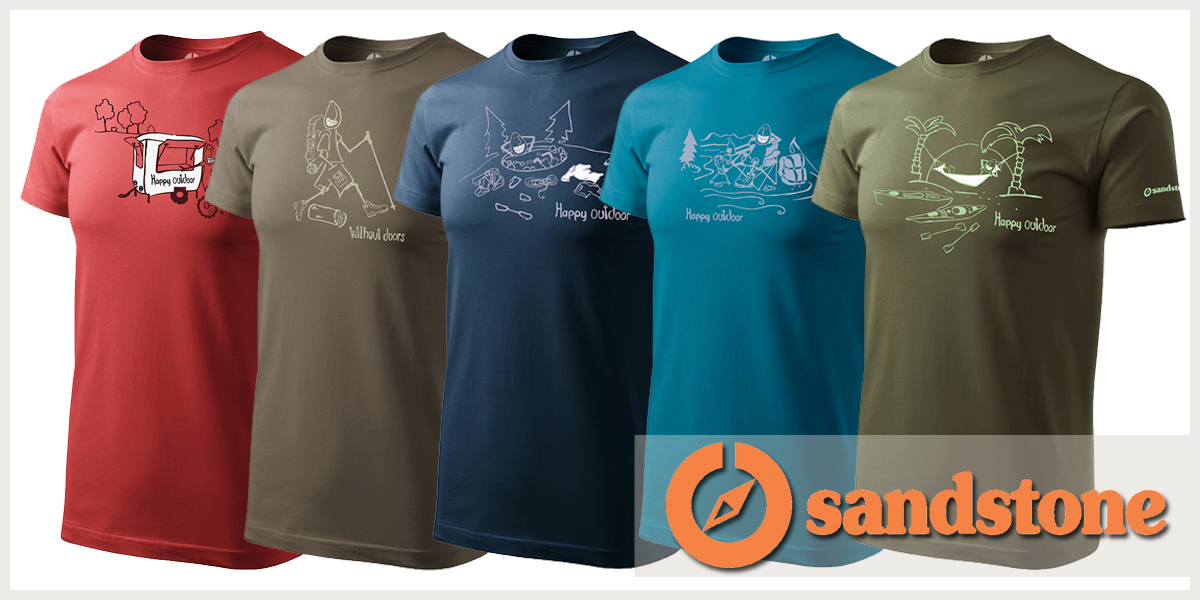 2017 tavaszi Sandstone pólók