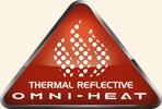 Omni-Heat®  -  Hőmegtartó technológiával