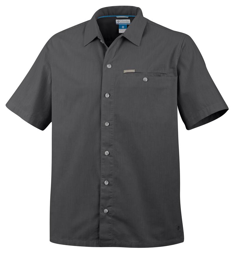 Columbia Ing Crown Point II Camp SS Shirt