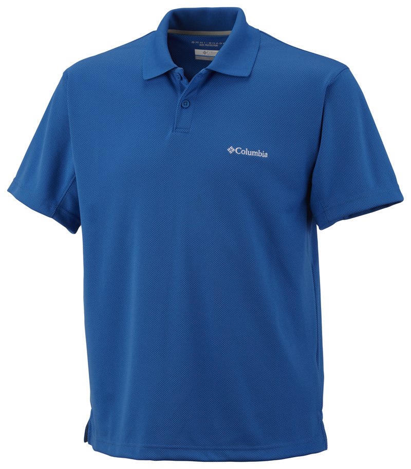 Columbia Poloing AM6215_072-New_Utilizer_Polo-Blue_Jay