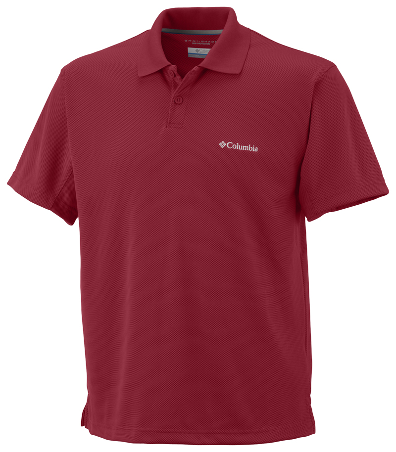 Columbia Poloing AM6215_678-New_Utilizer_Polo-Red_Velvet