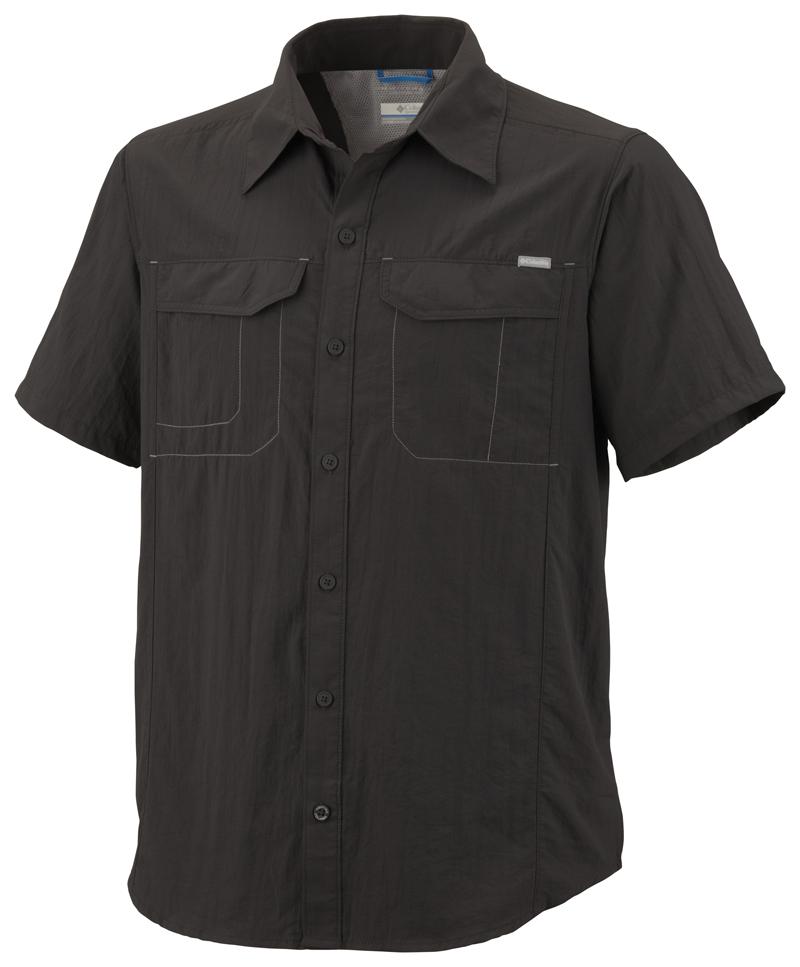 Columbia Rövid Ujjú Ing AM7474_028-Silver_Ridge_Short_Sleeve_Shirt-Grill