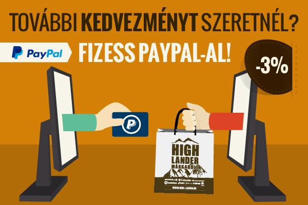 Fizessen PayPal-al és fizessen kevesebbet!