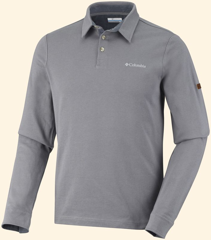 Columbia Pulóver Fields of Grey ™ Long Sleeve Polo