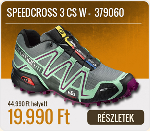 Salomon Terep Futócipő SPEEDCROSS 4 CS W - 383094-Slate_Blue_Cpurple_Black