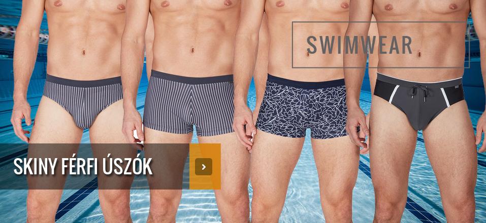 Skiny férfi úszók