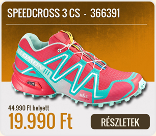 Salomon Terep Futócipő SPEEDCROSS 3 W -  366391-PAPAY_SOFTY_BLUE_BL